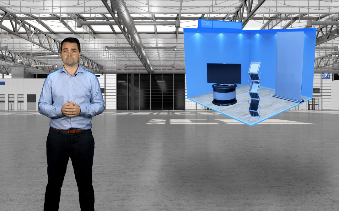 Watch Me: How to build a virtual exhibition stand