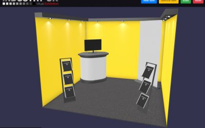 Design your own virtual exhibition stand!