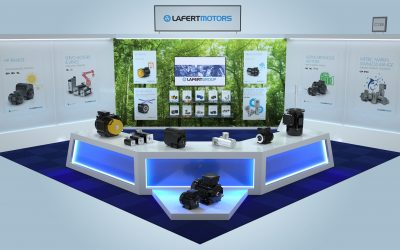 Virtually rendered products make Lafert Motors stand out at IndustryExpo