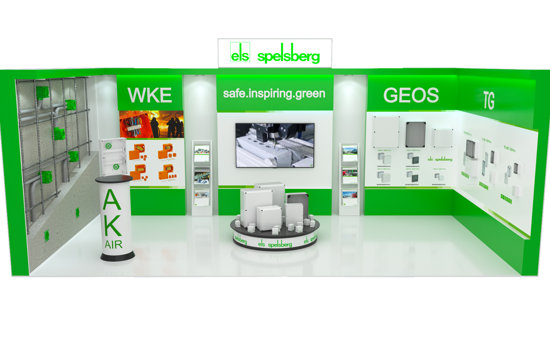 Spelsberg UK's virtual exhibition stand is ready for IndustryUK show