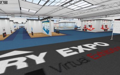 Trade show cancellations have led to a sharp rise in visitors to virtual exhibition