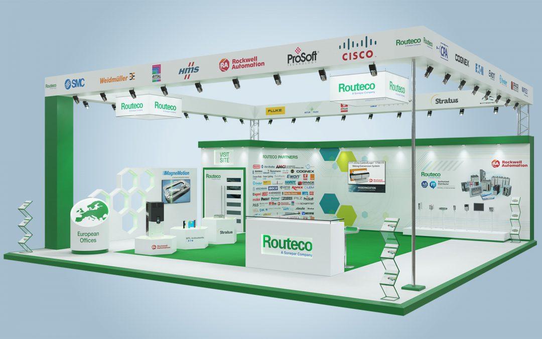 Routeco announces virtual exhibition stand