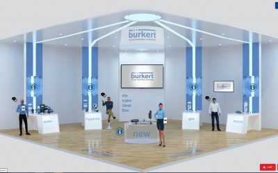 Burkert goes international with virtual exhibition stands