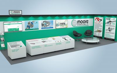 Visit the Moore International virtual stand to win a Smart TV